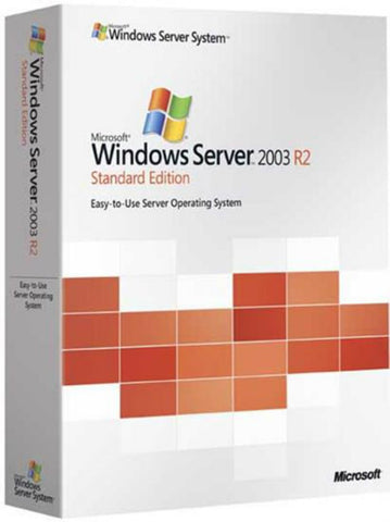 Microsoft Windows Server 2003 R2 Standard Edition + 5 CALS - MyChoiceSoftware.com