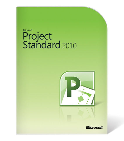 Microsoft Project Standard 2010 - License - English - MyChoiceSoftware.com - 1
