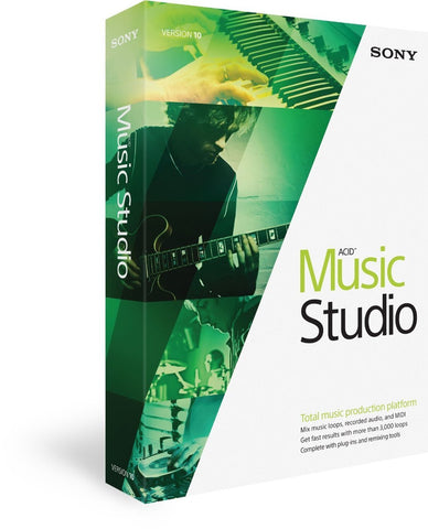 Sony Acid Music Studio 10 - PC - DVD-ROM - MyChoiceSoftware.com