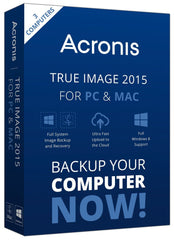 Acronis True Image 2015 PC/MAC License