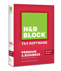 H&R Block Tax Software 13 Premium - MyChoiceSoftware.com