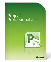 Microsoft Project 2010 Professional - Retail Box - MyChoiceSoftware.com - 1
