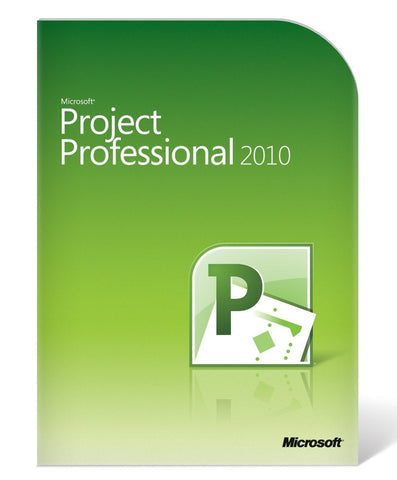 Microsoft Project Standard 2010 Retail Box