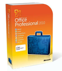 Microsoft Office 2010 Professional - 1 PC Retail License - MyChoiceSoftware.com