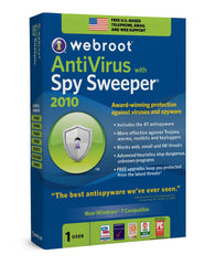 Webroot Antivirus W Spy Sweeper 2010