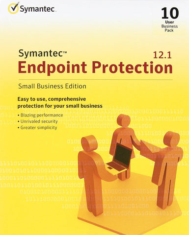 Symantec Endpoint Protection 12.1 Small Business - 10 User Box Pack - MyChoiceSoftware.com - 1