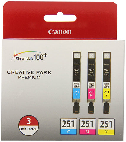 Canon 251 C/Y/M 3 Colors