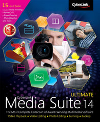 Cyberlink Media Suite 14 Ultimate