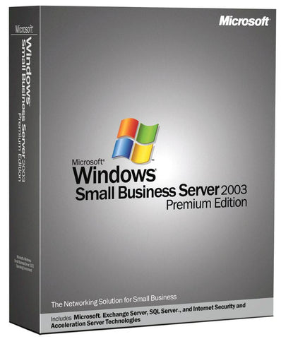 Microsoft Windows Small Business Server 2003 Premium 5 CAL - MyChoiceSoftware.com