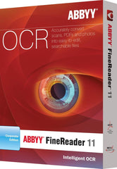 ABBYY FineReader 11 Corporate Edition - MyChoiceSoftware.com