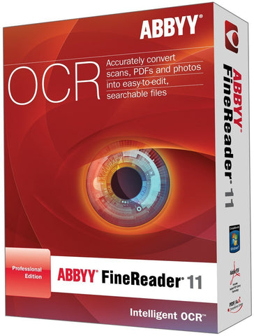 ABBYY FineReader 11 Professional Edition Retail Box - MyChoiceSoftware.com