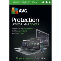 (Renewal) AVG Protection 1 Year (PC/Mac) Retail Box - MyChoiceSoftware.com