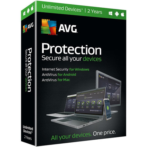 (Renewal) AVG Protection 2 Years Retail Box (PC/Mac) - MyChoiceSoftware.com