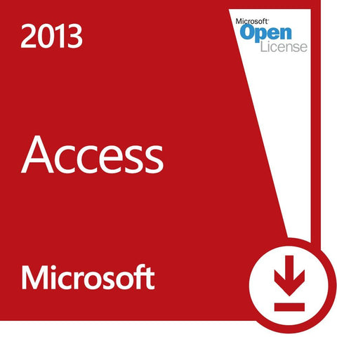 Microsoft Access 2013 - Volume - Open Business License - MyChoiceSoftware.com - 1