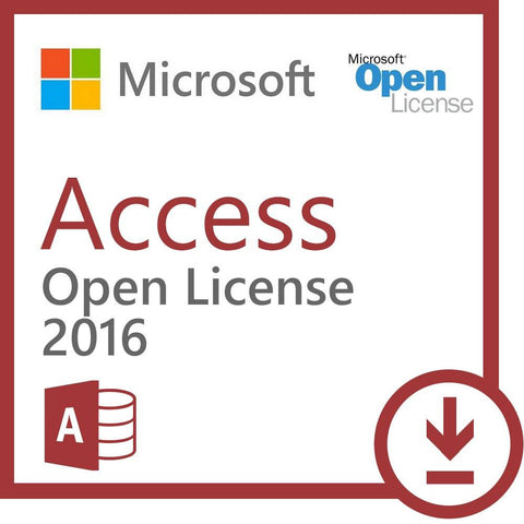 Microsoft Access 2016 - Open License - MyChoiceSoftware.com - 1