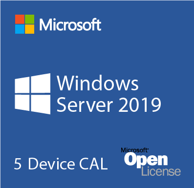 Microsoft Windows Server 2019 5 Pack Device CALs