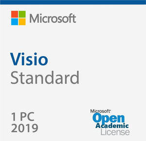 Microsoft Visio Standard 2019 Open Academic Deal