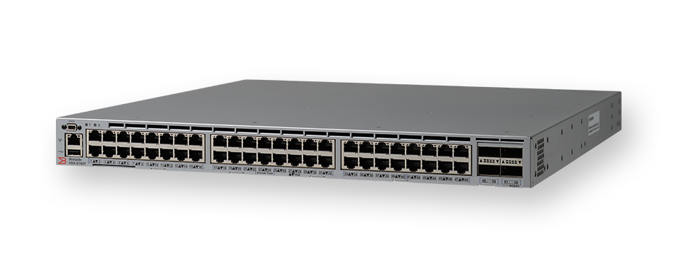 Brocade VDX 6740 Switch L3 Managed 24 x SFP+ Rack Mountable