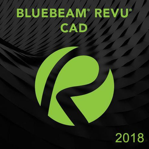 Bluebeam Revu CAD 2018 - 1 seat (Tier 1-49 seats)