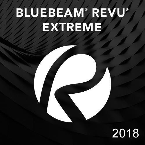 Bluebeam Revu eXtreme 2018 - 1 seat (Tier 1-49 seats)