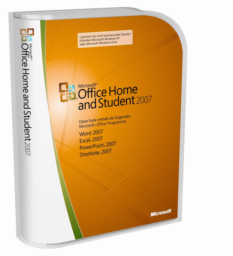 Office & Business Microsoft Office Home And Student 2007 Computers/tablets & Networking