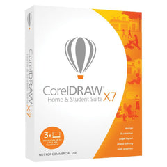 CorelDRAW Home and Student Suite X7 3 Users Retail Box - MyChoiceSoftware.com