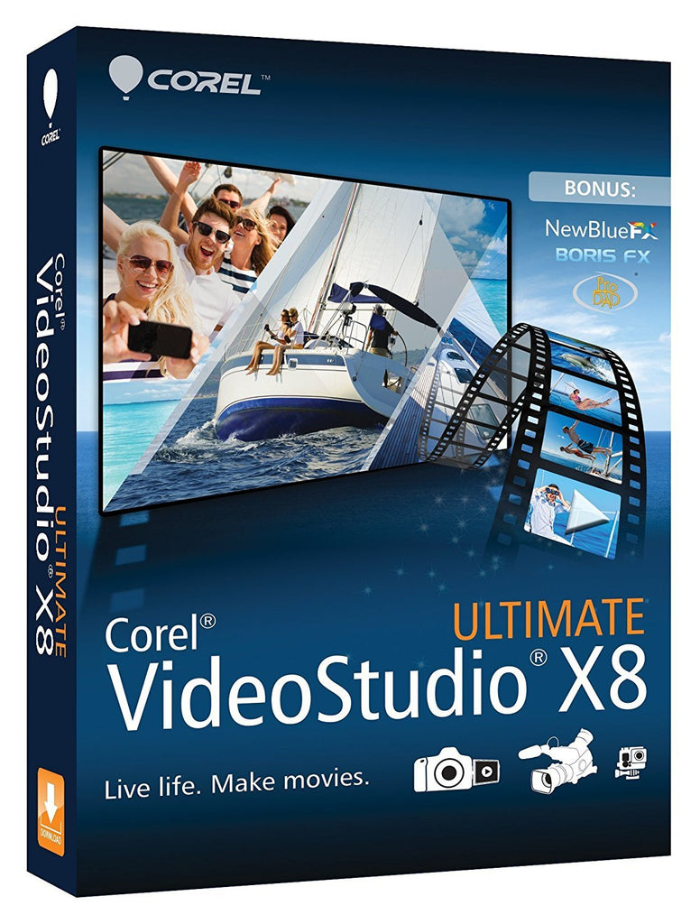 Corel Videostudio Ultimate X8 1 Pc License