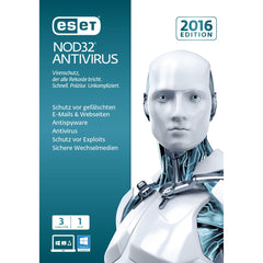 ESET NOD32 Antivirus 2016 3 Users Retail Box - MyChoiceSoftware.com