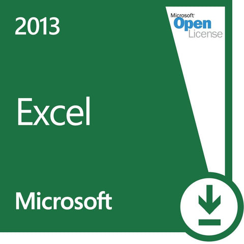 Microsoft Excel 2013 Open License