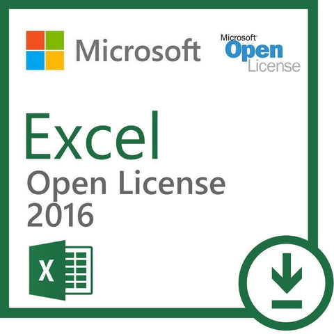 Microsoft Excel 2016 Download License