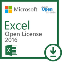 Microsoft Excel 2016 - Open License - MyChoiceSoftware.com - 1