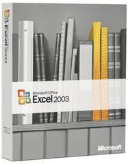 Microsoft Office Excel 2003 - Retail Box