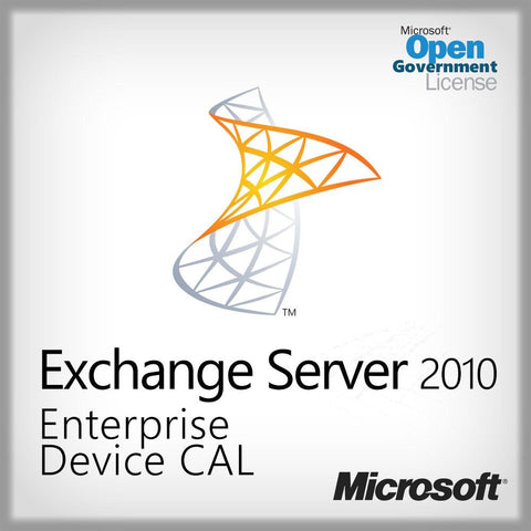 Exchange Server 2010 Enterprise Device CAL  Open Gov. PGI-00519