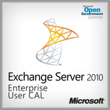 Exchange Server 2010 Enterprise User CAL  Open Gov. PGI-00520