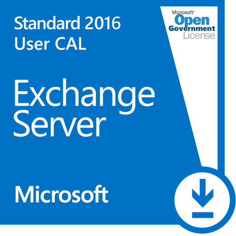 Microsoft Exchange Server 2016 User CAL (Open Government)