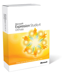 Microsoft Expression Studio 4 Ultimate - License & SA - Open Gov(Electronic Delivery) [NKF-00262] - MyChoiceSoftware.com