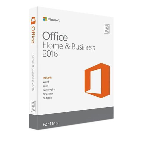 Microsoft Office Home and Business 2016 Retail Box