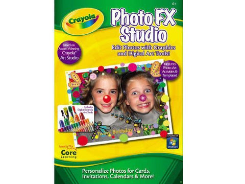 Core Learning Pc Crayola Photo Fx Studio Esd - MyChoiceSoftware.com