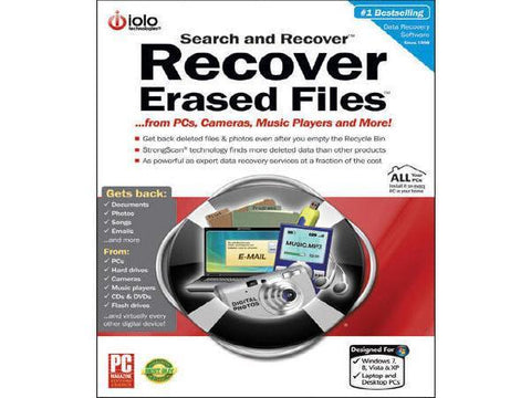 Iolo Search And Recover Esd - MyChoiceSoftware.com