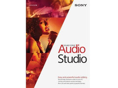 Sony Creative Software Inc Sony Sound Forge Audio Studio 10 Esd - MyChoiceSoftware.com