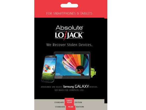 Absolute Software Lojack For Mobile Standard 3 Yr Esd - MyChoiceSoftware.com