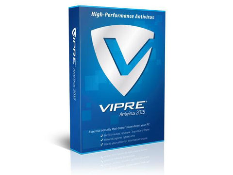 ThreatTrackSecurity Vipre Antivirus 2015 1PC 1 Year ESD - MyChoiceSoftware.com