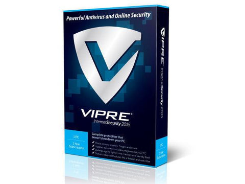ThreatTrackSecurity Vipre Internet Security 2015 1 PC 1 YR ESD.