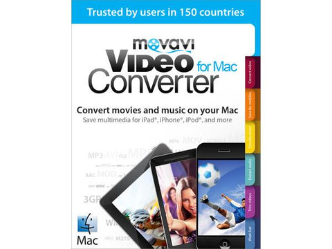 Movavi Software Movavi Video Converter Mac 5 Bus Esd - MyChoiceSoftware.com