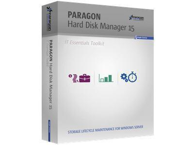 Paragon Software Hard Disk Manager 15 Essentials Tool Kit 1yr (51-100)