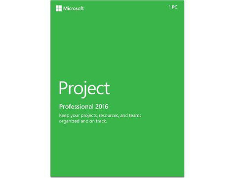 Microsoft Microsoft Project Pro 2016 Esd - MyChoiceSoftware.com