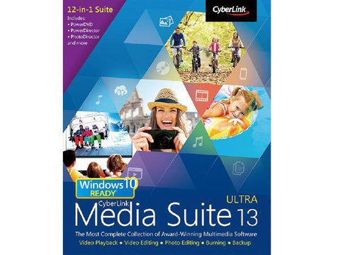Cyberlink Media Suite 13 Ultra Esd - MyChoiceSoftware.com