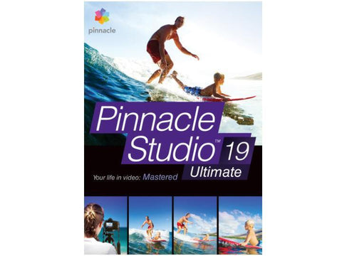 Corel Pinnacle Studio 19 Ultimate Esd - MyChoiceSoftware.com