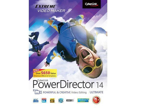 Cyberlink Powerdirector 14 Ultimate Esd - MyChoiceSoftware.com