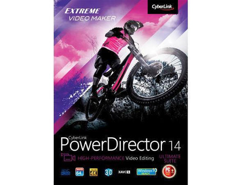 Cyberlink Powerdirector 14 Ultimate Suite Esd - MyChoiceSoftware.com